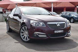 2013 Holden Calais VF MY14 V Purple 6 Speed Sports Automatic Sedan.