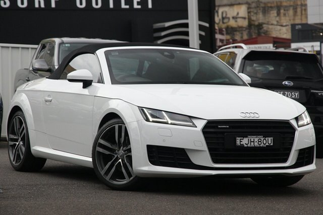 Used Audi TT FV MY16 Sport S Tronic Quattro, 2015 Audi TT FV MY16 Sport S Tronic Quattro White 6 Speed Sports Automatic Dual Clutch Coupe