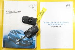 2013 Mazda 2 DE MY12 Neo Blue 5 Speed Manual Hatchback