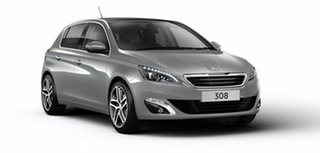 2017 Peugeot 308 T9 MY17 Active Grey 6 Speed Sports Automatic Hatchback