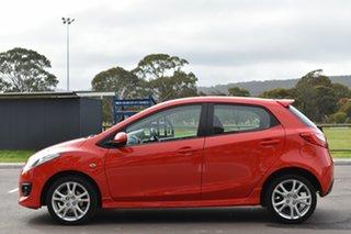 2010 Mazda 2 DE10Y1 Genki Red 4 Speed Automatic Hatchback