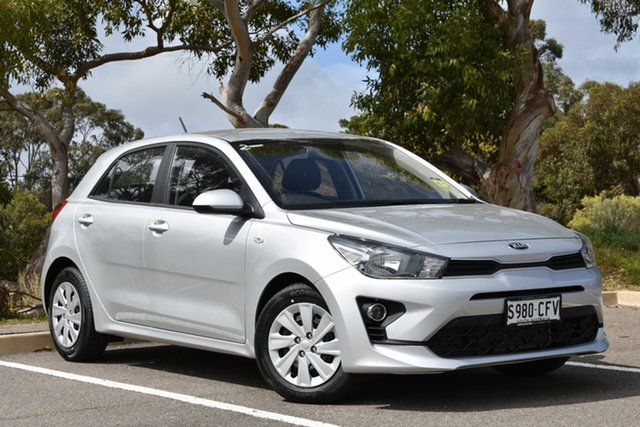 Demo Kia Rio YB MY21 S St Marys, 2020 Kia Rio YB MY21 S Silky Silver 6 Speed Automatic Hatchback