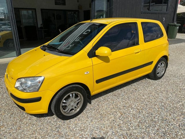 Used Hyundai Getz TB Upgrade 1.6, 2005 Hyundai Getz TB Upgrade 1.6 Yellow 5 Speed Manual Hatchback
