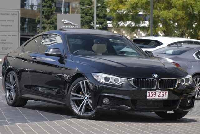 Used BMW 4 Series F32 420i Modern Line, 2015 BMW 4 Series F32 420i Modern Line Black 8 Speed Sports Automatic Coupe