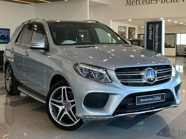 Used Mercedes-Benz GLE-Class W166 MY808+058 GLE350 d 9G-Tronic 4MATIC, 2018 Mercedes-Benz GLE-Class W166 MY808+058 GLE350 d 9G-Tronic 4MATIC Silver 9 Speed
