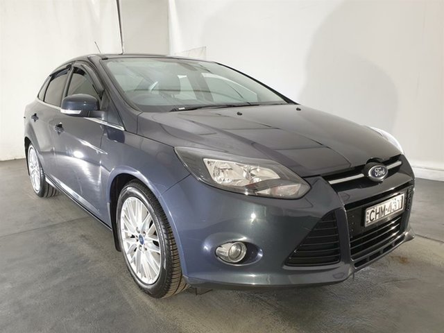 Used Ford Focus LW Sport PwrShift, 2012 Ford Focus LW Sport PwrShift Grey 6 Speed Automatic Sedan
