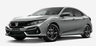 2020 Honda Civic 10th Gen MY20 VTi-S Silver 1 Speed Constant Variable Hatchback