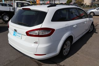 2011 Ford Mondeo MC LX PwrShift TDCi White 6 Speed Sports Automatic Dual Clutch Wagon.