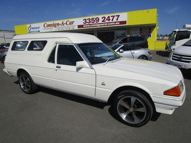Used Ford Falcon XE GL, 1984 Ford Falcon XE GL White 3 Speed Automatic Van