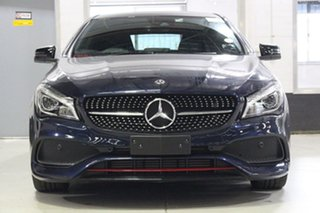 2017 Mercedes-Benz CLA250 117 MY17.5 4Matic Blue 7 Speed Auto Dual Clutch Coupe.