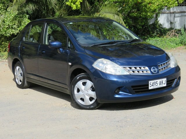 Used Nissan Tiida C11 S3 ST, 2010 Nissan Tiida C11 S3 ST Blue 6 Speed Manual Sedan