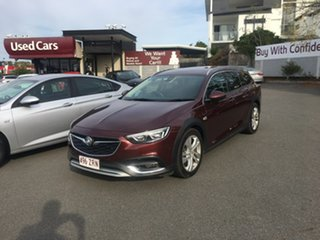 2018 Holden Calais ZB MY18 Tourer AWD Red 9 Speed Sports Automatic Wagon.