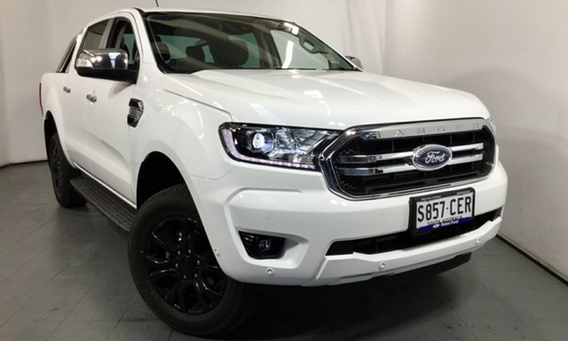 Demo Ford Ranger PX MkIII 2020.25MY XLT, 2020 Ford Ranger PX MkIII 2020.25MY XLT Arctic White 6 Speed Sports Automatic Double Cab Pick Up