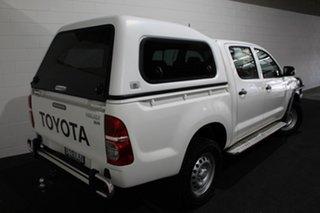 2014 Toyota Hilux KUN26R MY14 SR Double Cab Glacier 5 Speed Manual Utility