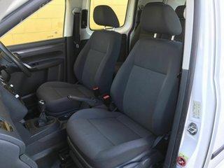 2014 Volkswagen Caddy 2KN MY14 TDI250 BlueMOTION Crewvan Maxi White 5 Speed Manual Van