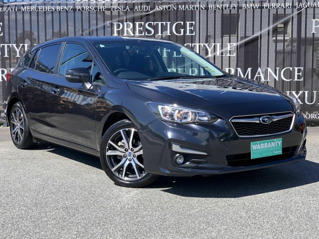 Used Subaru Impreza G5 MY18 2.0i-L CVT AWD, 2018 Subaru Impreza G5 MY18 2.0i-L CVT AWD Grey 7 Speed Constant Variable Hatchback