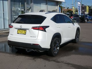 2017 Lexus NX AGZ15R NX200t AWD F Sport White Pearl 6 Speed Sports Automatic Wagon