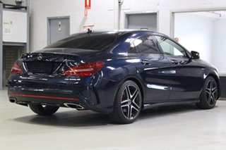 2017 Mercedes-Benz CLA250 117 MY17.5 4Matic Blue 7 Speed Auto Dual Clutch Coupe