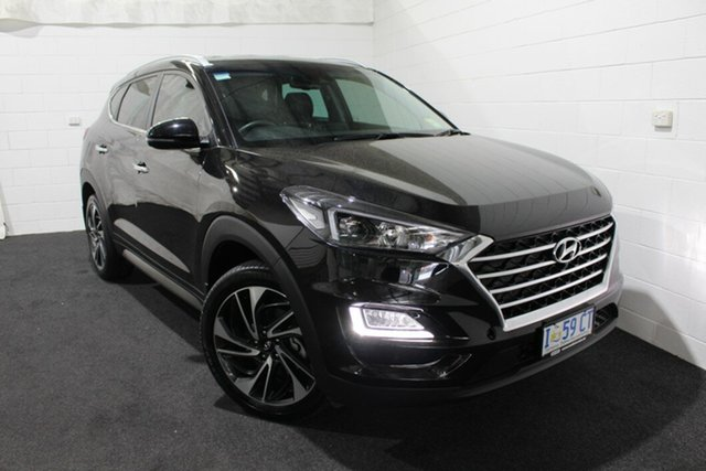 Used Hyundai Tucson TLE3 MY19 Special Edition AWD, 2018 Hyundai Tucson TLE3 MY19 Special Edition AWD Phantom Black 8 Speed Sports Automatic Wagon