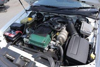 2008 Ford Falcon BF Mk II XT White 4 Speed Sports Automatic Wagon