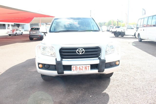 Used Toyota Landcruiser VDJ200R MY13 GXL, 2014 Toyota Landcruiser VDJ200R MY13 GXL Glacier White 6 Speed Automatic Wagon