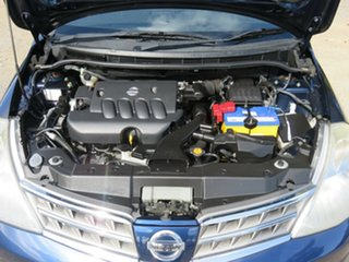 2010 Nissan Tiida C11 S3 ST Blue 6 Speed Manual Sedan