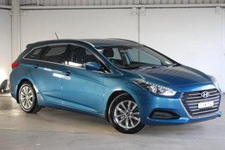 2015 Hyundai i40 VF2 Active Tourer Blue 6 Speed Sports Automatic Wagon.