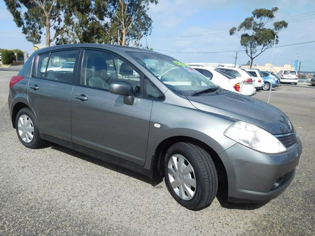 Used Nissan Tiida C11 MY07 ST, 2009 Nissan Tiida C11 MY07 ST Grey 4 Speed Automatic Hatchback