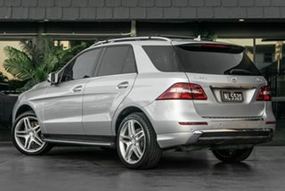 2013 Mercedes-Benz M-Class W166 ML250 BlueTEC 7G-Tronic + Silver 7 Speed Sports Automatic Wagon.