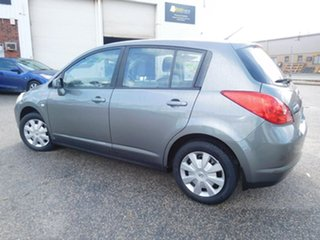 2009 Nissan Tiida C11 MY07 ST Grey 4 Speed Automatic Hatchback