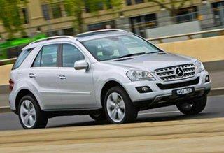 2008 Mercedes-Benz M-Class W164 MY08 ML320 CDI Luxury Silver 7 Speed Sports Automatic Wagon.