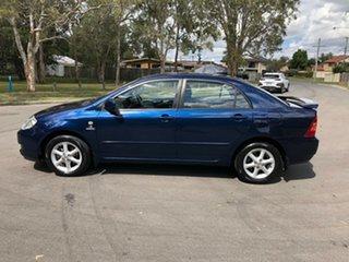 2006 Toyota Corolla ZZE122R Ascent Sport Blue 4 Speed Automatic Sedan
