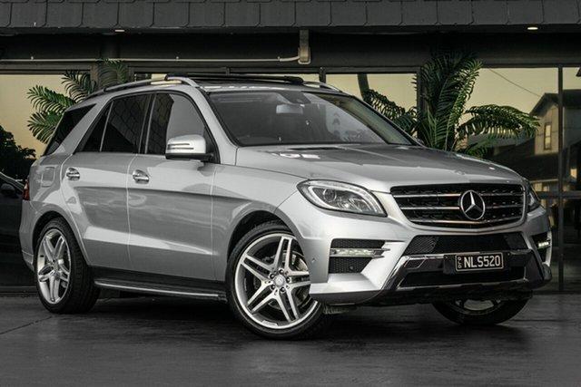 Used Mercedes-Benz M-Class W166 ML250 BlueTEC 7G-Tronic +, 2013 Mercedes-Benz M-Class W166 ML250 BlueTEC 7G-Tronic + Silver 7 Speed Sports Automatic Wagon