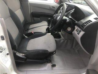 2010 Mitsubishi Triton MN MY10 GLX (4x4) White 5 Speed Manual 4x4 Cab Chassis