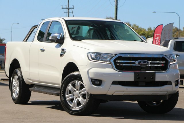 Used Ford Ranger PX MkII 2018.00MY XLT Super Cab, 2018 Ford Ranger PX MkII 2018.00MY XLT Super Cab White 6 Speed Sports Automatic Utility