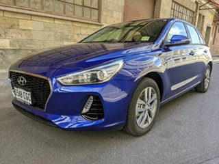 2020 Hyundai i30 PD2 MY20 Active Intense Blue 6 Speed Automatic Hatchback