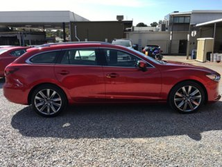 2019 Mazda 6 GL1033 GT SKYACTIV-Drive Soul Red 6 Speed Sports Automatic Wagon.