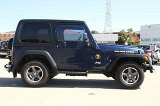 2006 Jeep Wrangler TJ Golden Eagle (4x4) Blue 6 Speed Manual Softtop