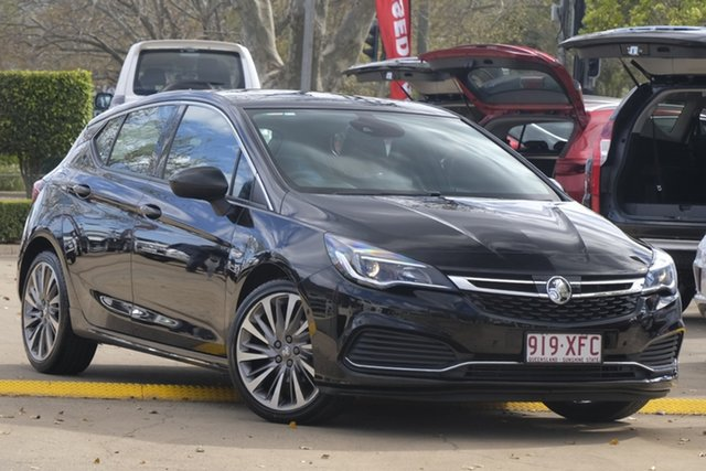 Used Holden Astra BK MY18 RS-V, 2017 Holden Astra BK MY18 RS-V Black 6 Speed Sports Automatic Hatchback