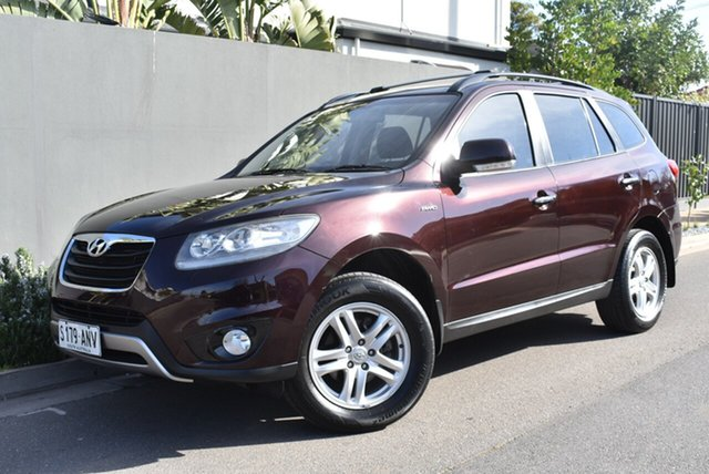 Used Hyundai Santa Fe CM MY11 Elite, 2011 Hyundai Santa Fe CM MY11 Elite Maroon 6 Speed Sports Automatic Wagon
