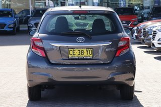 2015 Toyota Yaris NCP130R MY15 Ascent Grey 4 Speed Automatic Hatchback