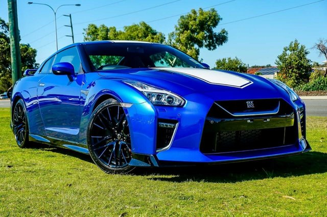 New Nissan GT-R R35 MY20 50th Anniversary Edition DCT AWD, 2019 Nissan GT-R R35 MY20 50th Anniversary Edition DCT AWD Blue 6 Speed Sports Automatic Dual Clutch