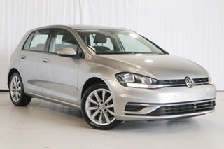 2017 Volkswagen Golf 7.5 MY18 110TSI DSG Comfortline Silver 7 Speed Sports Automatic Dual Clutch.