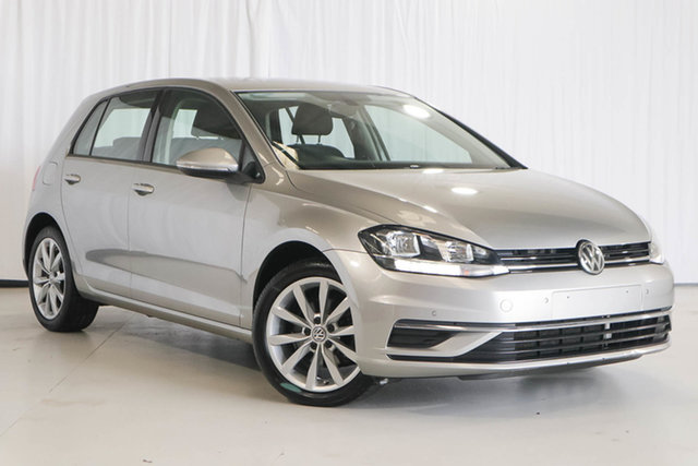Used Volkswagen Golf 7.5 MY18 110TSI DSG Comfortline, 2017 Volkswagen Golf 7.5 MY18 110TSI DSG Comfortline Silver 7 Speed Sports Automatic Dual Clutch