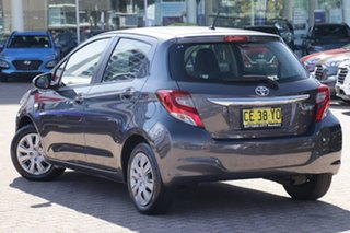 2015 Toyota Yaris NCP130R MY15 Ascent Grey 4 Speed Automatic Hatchback.