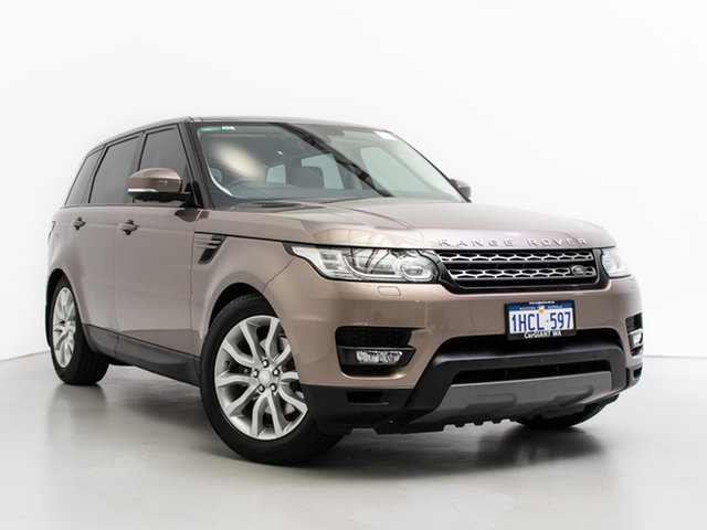 Used Land Rover Range Rover LW MY16 Sport 3.0 TDV6 SE, 2016 Land Rover Range Rover LW MY16 Sport 3.0 TDV6 SE Kaikoura Stone 8 Speed Automatic Wagon