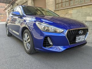 2020 Hyundai i30 PD2 MY20 Active Intense Blue 6 Speed Automatic Hatchback.