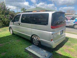 2002 Nissan El Grande Silver 5 Speed Automatic Van