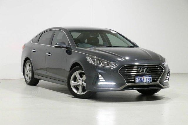 Used Hyundai Sonata LF4 MY18 Active, 2018 Hyundai Sonata LF4 MY18 Active Grey 6 Speed Automatic Sedan