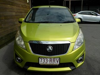 2011 Holden Barina Spark MJ MY11 CDX Green 5 Speed Manual Hatchback